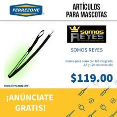 #ArtículosParaMascotas #CorreaParaPerro con #led ferrezone.mx  El mercado ferretero de México Anúnciate gratis