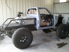 Pics of your Favorite Buggy's and Truggy's - Page 17 - : and Off-Road Forum Toyota 4x4, Toyota Trucks, Toyota Hilux, Cool Trucks, Chevy Trucks, Pickup Trucks, Truck Flatbeds, Truck Bed, Off Road Camping