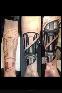 biomechanical tattoo for men hand Cyborg Tattoo, Biomech Tattoo, Biomechanical Tattoo Design, Tattoos Bras, Hand Tattoos, Body Art Tattoos, Tatoos, Future Tattoos, Tattoos For Guys