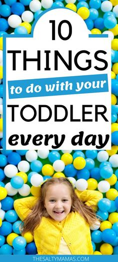 Toddler Activities Find the ten daily activities for toddlers that you MUST include in your toddler' Learning Toys For Toddlers, Parenting Toddlers, Toddler Learning, Toddler Preschool, Parenting Hacks, Activities For 2 Year Olds, Daily Activities, Sensory Activities, Hands On Activities