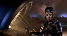 """A scene from master stylist Mario Bava's """"Planet of the Vampires."""""""