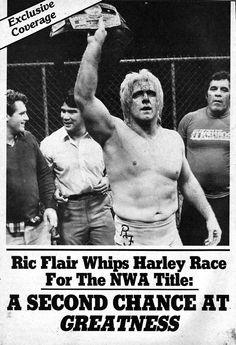 Ric Flair- NWA World Heavyweight Champion