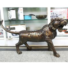>> Click to Buy << Yu Zhuo large bronze     ornaments products crafts fortune tiger copper decoration #Affiliate