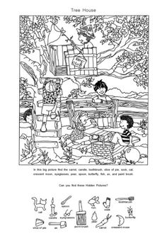 Craft Activities For Kids, Summer Activities, Crafts For Kids, Hidden Pictures Printables, Hidden Picture Puzzles, Paper Games, Fun Worksheets, How To Make Paper, Fun Learning