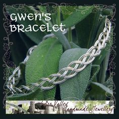 Celtic-style braided bracelet free download tutorial from JewelryLessons.com - Love this look!