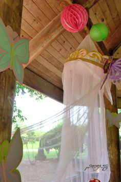 """Photo 23 of 41: Enchanted Forest/Woodland Fairy / Fairy Party """"Last year in the Enchanted World """"   Catch My Party"""