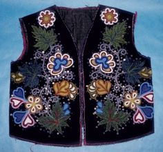 Meskwaki Vest, front side. The University of Iowa Museum of Natural History, Fred Armstrong Soleman Collection.