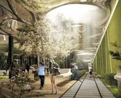 Fiber optic technology could bring sun and greenery to a park underneath the Lower East Side of Manhattan.