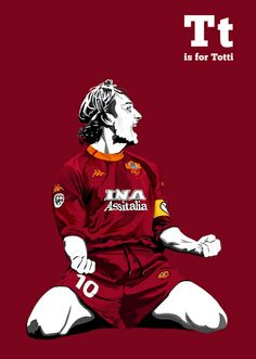 T Is For Totti (http://society6.com/miniboro/T-is-for-Totti_Print)
