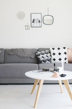 Via Miss Jettle | Nordic | Grey Wood White | Design Letters