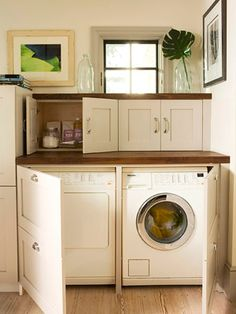 I want this laundry room...
