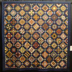 A Nearly Insane Quilt With Clever Sashingcoalcreekindiana