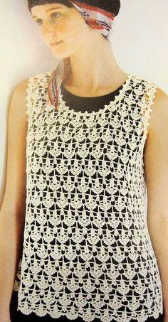 Free crochet top