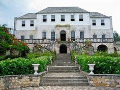 Rose Hall, Montego Bay, Jamaica. A Georgia mansion built in the 1770s and has been reported that it is haunted by a white witch.