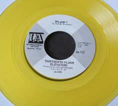 "13th Floor Elevators Slip Inside This House 7"" Yellow Vinyl Reissue Mint Click the image to join the Thirteenth Floor Elevators Facebook group!"