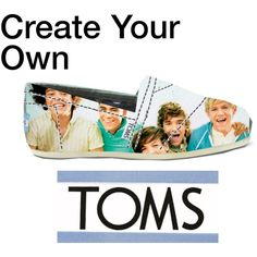 one direction toms???!!! OH GOD! i could put anything on these shoes! sooo wana do this