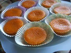 Receitas práticas de culinária: Queijadas de Cenoura