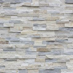Tango Tile - Real Stone Systems Silver Alabaster Shadowstone possible coloring Stone Facade, Stone Cladding, Wall Cladding, Stone Veneer Exterior, Thin Stone Veneer, Natural Stone Veneer, Natural Stones, Fireplace Remodel, Fireplace Wall