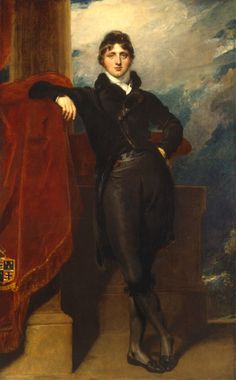 1804-09 Lord Granville Leveson-Gower, later 1st Earl Granville,  by Sir Thomas Lawrence, 1769-1830, British.