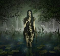 River Spirits. Rusalka This one comes to us from Slavic mythology. Believed to be the souls of murdered young women who died in or near lakes, they haunt the waterside until their murder is avenged but aren't always violent.