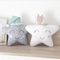 57 Ideas Sewing Pillows For Kids Etsy Cute Pillows, Baby Pillows, Kids Pillows, Fabric Toys, Fabric Crafts, Fabric Sewing, Baby Crafts, Crafts For Kids, Baby Sewing Projects