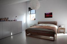 #Ethnicraft #Light #Frame #Bedroom #Nighstand