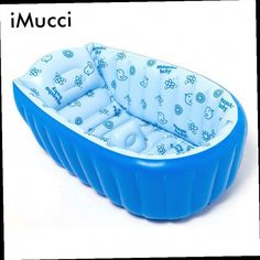 43.99$  Watch now - http://alikce.worldwells.pw/go.php?t=32339025247 - Summer Portable Tubs For Baby Soft Inflatable Bathtub Eco-friendly Anti-slip Swimming Pool 43.99$