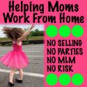 Ask me for details on how you can work from home without the hassle of home parties!