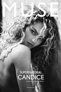 grafika model, candice swanepoel, and black and white Curly Hair Model, Curly Hair Styles, Victorias Secret Models, Victoria Secret, Muse Magazine, African Models, Fashion Cover, Comme Des Garcons, Facon