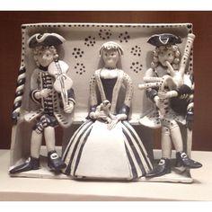 Staffordshire Figure Group, Circa 1740-50  Nelson Atkins Museum, Kansas City, Mo - LMB