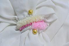 Pandahall Tutorial on How to Make Simple Organza Ribbon Bracelet with Pearl Beads - Pandahall.com