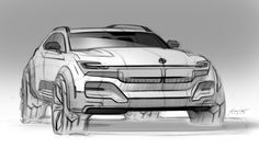 Automotiv Sketches on Behance