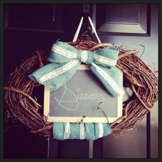 I love including the hubbies interest with mine. The 3 strands of lace on the bottom represent the laces on a football :-) crafts wreath football burlap Footballers Wives, Lombardi Trophy, Coaches Wife, Football Crafts, Sport Craft, Team Mom, Wreath Crafts, 3 Things, Grapevine Wreath