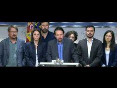 Unidos Podemos promueve una  moción de censura contra Rajoy