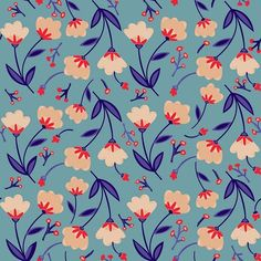 Menswear Spring/Summer 2019 – Print and Pattern Trend Hightlights Textile Pattern Design, Surface Pattern Design, Textile Patterns, Pattern Art, Print Patterns, Floral Pattern Print, Motif Vintage, Vintage Design, Vintage Patterns