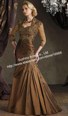 Bronze Mother of the Bride Dresses