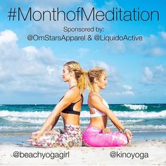 Announcing the FEBRUARY YOGA CHALLENGE: #MonthofMeditation  Starts today! HOSTED BY:@beachyogagirl & @kinoyoga SPONSOR: @omstarsapparel by @LiquidoActive CHARITY: @paws4you a Non-Profit volunteer charity that helps save dogsfrom Euthanasia in Miami. . ABOUT THE CHALLENGE: Have you always wanted to meditate but don't know how? Or maybe you already meditate everyday and want to help save animals from being killed? Whatever your reason we want to encourage you and help make this world a more…