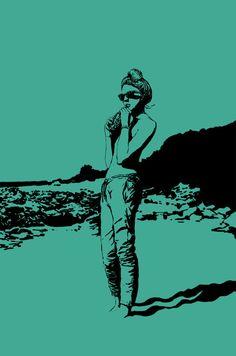 Kai Fine Art is an art website, shows painting and illustration works all over the world. Grafik Art, Illustrations And Posters, Art Girl, Comic Art, Character Art, Pop Art, Art Drawings, Art Photography, Street Art