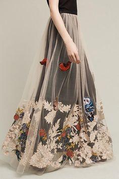 Hidden Forest Maxi Skirt