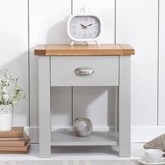 Small Bedside Cabinets small white bedside cabinet - two drawer white bedside table
