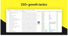 Scrapbook: growth tactics for every step of the funnel Swipe File, Can You Help, Marketing Tactics, Growth Hacking, Hard To Find, Marketing Materials, Psychology, Budgeting, Scrapbook