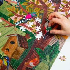 English Countryside Jigsaw Puzzle + Poster⎢1000 Pieces