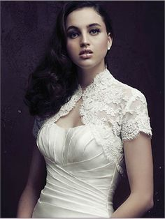 Have a wedding jacket made from your mother's or grandmother's wedding gown.