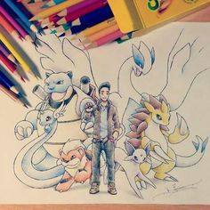 Pokemon Trainer art by itsbirdy