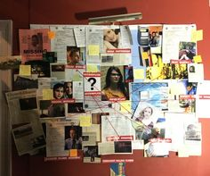 JUST WHEN YOU THINK YOU CAN'T LOVE NOAH FOSTER EVEN MORE, HE PRESENTS A MURDERBOARD