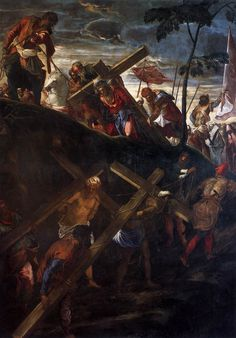Subida al Calvario, Tintoretto