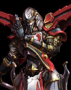 Robot Concept Art, Armor Concept, Manga Anime, Super Robot Taisen, Big Robots, Anime Land, Robot Design, Gurren Lagann, 3d Character