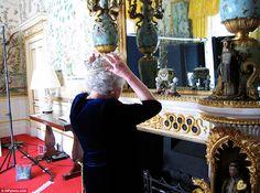 Royal Splendor: Behind the Scene with Queen Elizabeth II