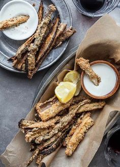 Connection Recipe: Gluten-Free Baked Eggplant Fries with Goat Cheese