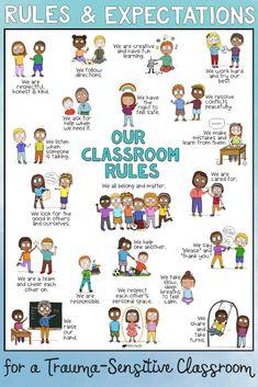 Classroom Expectations, Classroom Behavior, Classroom Rules, Classroom Environment, Classroom Posters, Classroom Decor, Social Skills Activities, Counseling Activities, School Counseling